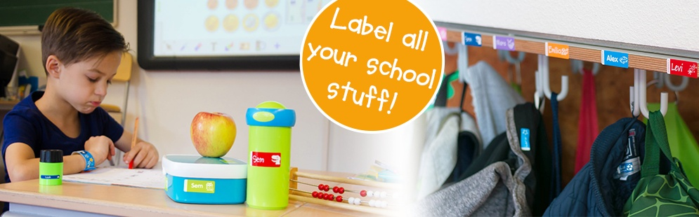 Label all your school stuff!