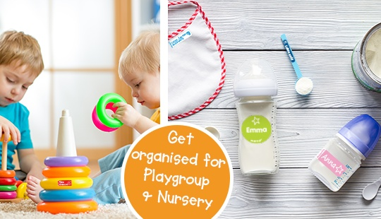 Get organised for Playgroup & Nursery