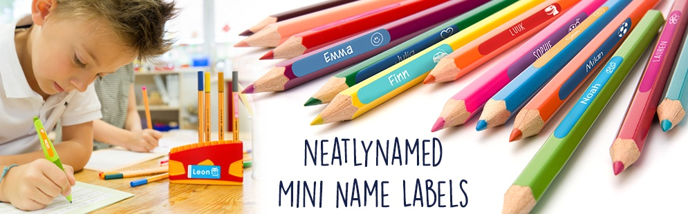 Neatlynamed mini name labels