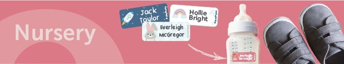 Personalised Name Labels For Nursery