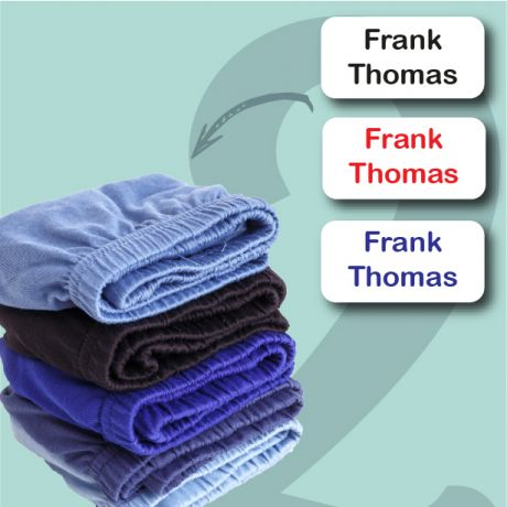 Care Home Clothing Stickers