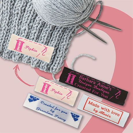Woven Fabric Clothing Labels 23mm