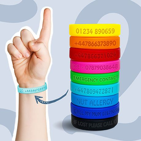 Safety ID Wristbands