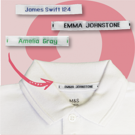 Express Woven Name Tapes