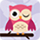 Pink Winking Owl swatch