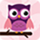 Purple Owl swatch