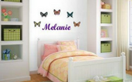Melanie RoomEasy wall sticker
